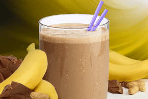 Peanut Butter with Banana Shake