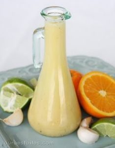 lemon orange citrus shake