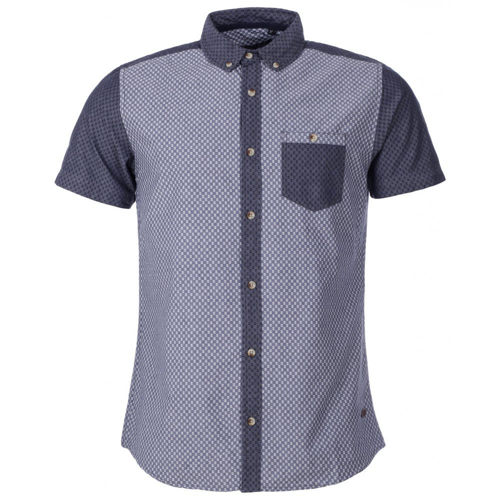 Mens shirts short sleeve custom shirt for Short sleeved shirts for men