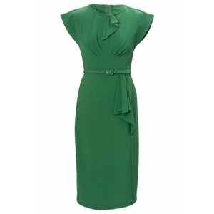 Timeless Vintage Green Pencil Dress in Kenya