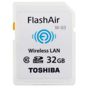 Toshiba 32GB SD FlashAir W-03 Memory Cards in Kenya