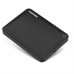 Toshiba Canvio Connect II 1TB Black External Hard Drives in Kenya